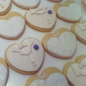 γαμπρός και νύφη μπισκότα